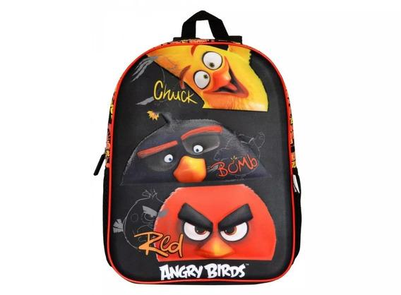 Mochila Angry Birds Abm 801801 Original