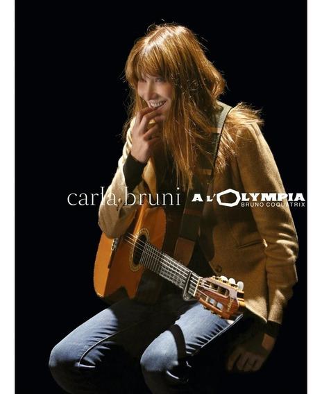 Carla Bruni - A L´olympia - Blu Ray Importado, Lacrado