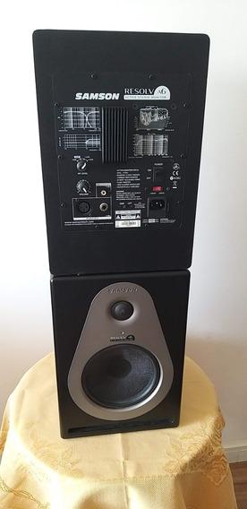 Monitor De Referência De Áudio Samson Resolv A6