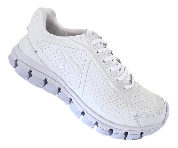 Tênis Esportivo Branco Glk900 - Frete Grátis