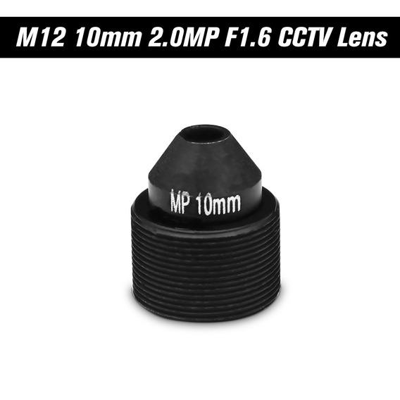 Lente Pinhole Lente M12 De Hd 2.0 Megapixel 10mm Para Cctv