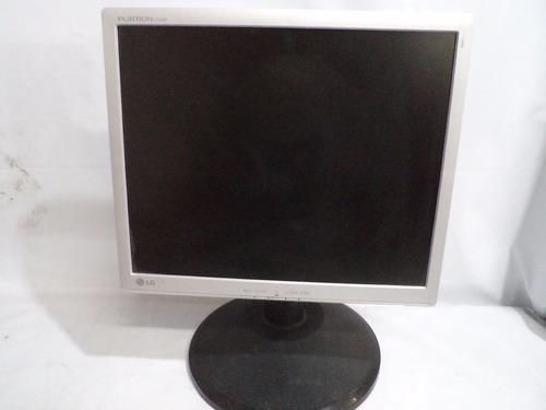 Monitor Lcd 17'' LG Flatron L1742p + Cabos