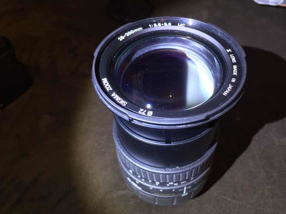 Lente Sigma 28-200mm Sony A-mount Full Frame