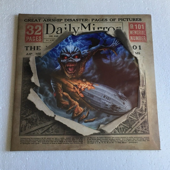 Iron Maiden Lp Empire Of The Clouds Picture Vinil 12 Single