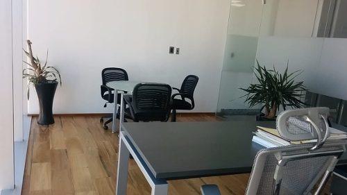 Oficina Amueblada De Edificio Porsche En Renta, Santa Fe, Lomas De Vista Hermosa