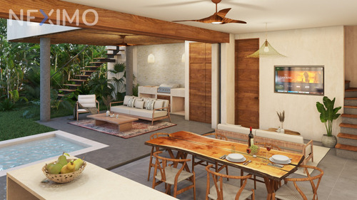 Imagen 1 de 10 de Casa 2 Recamaras En Venta Con Piscina Privada En Tulum, Lock Off A 1.5 Km De La Playa, Quintana Roo