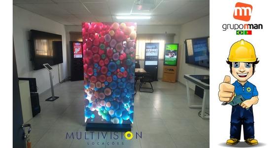 Totem Interativo Digital De Led Tv Corporativa   Tv Indoor
