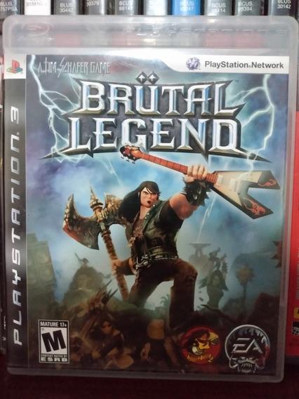 Brutal Legend Ps3 Completo | Parcelamento Sem Juros