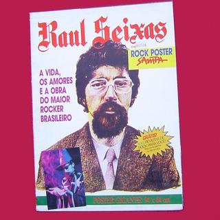 Revista-poster Raul Seixas - Nova Sampa