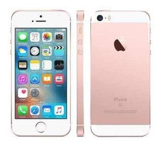 Celular iPhone SE Apple 16gb Ouro Rosa 4g Tela 4 Retina