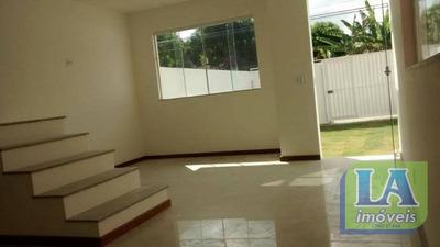 R$ 350 Mil Casa Primeira Locação 3 Quartos Com Suíte Engenho Do Mato, Niterói. - Ca1063