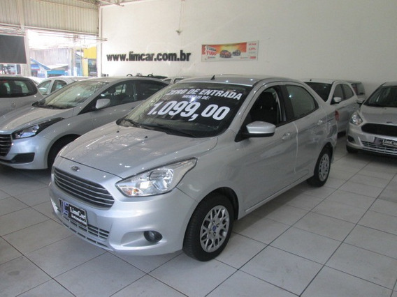 Ford Ka Ka+ 1.5 Se Ano 2018 Hatch Sedan Zero De Entrada