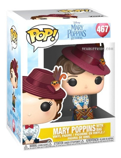 Funko Pop Disney Mary Poppins 467 Original Scarletkids