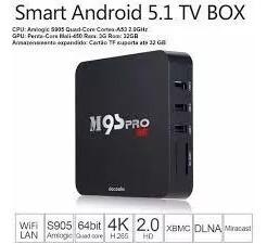 Tv Box M9s - Pro 4 K Android 5.1 Quad-core 2.0ghz 16gb Psu