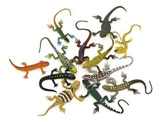 Kvvdi Pequeño Plástico De Colores Poison Dart Frogs Lagartos