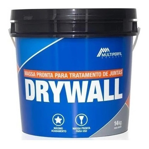 Massa Para Drywall - Gesso 6 Kg