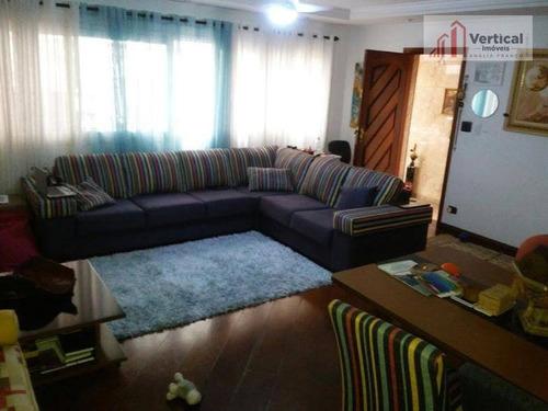 Imagem 1 de 21 de Sobrado Com 3 Dormitórios À Venda, 165 M² Por R$ 1.190.000,00 - Tatuapé - São Paulo/sp - So0068