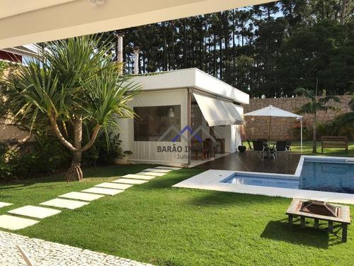 Casa Com 3 Dormitórios Para Alugar, 370 M² Por R$ 10.000,00/mês - Paineiras - Itupeva/sp - Ca1131