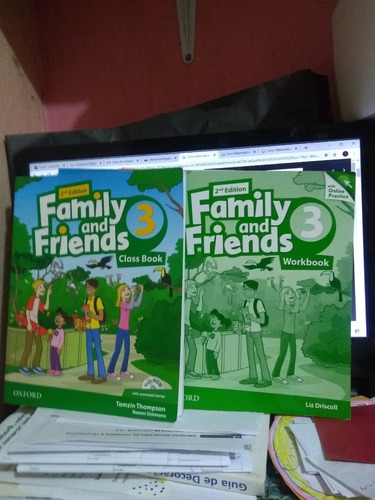 Family And Friends 3  Class Book E Workbook Com Cd 2 Edition