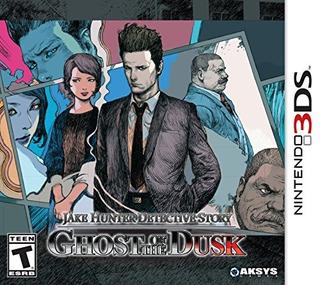 Jake Hunter Detective Story: Ghost Of The Dusk - Nintendo 3d