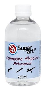 Composto Alcoólico Artesanal 250g Sugar Art