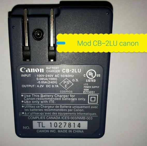 Carregador Canon Battery Charger Cb-2lu Fonte Original