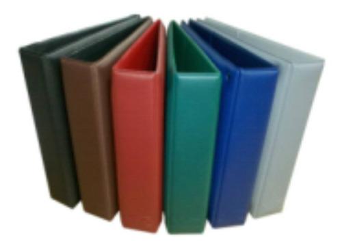 Carpeta Para Guardar Hojas De Monedas 6 Colores  Disponibles