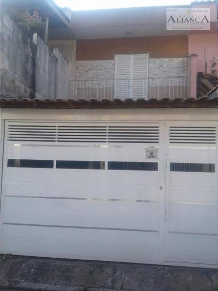 Sobrado Com 2 Dormitórios À Venda, 160 M² Por R$ 330.000 - Alves Dias - São Bernardo Do Campo/sp - So0495
