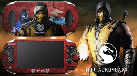Skin Adesivo Ps Vita Mortal Kombat Fat / Slim Sublimeskins