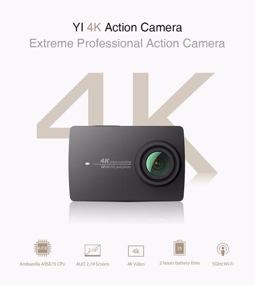 Câmera Xiaomi Yi 4k Action + Caixa Estanque Original