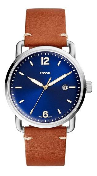 Relógio Masculino Fossil Fs5325/2an 42mm Couro Marrom
