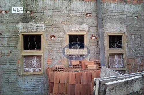 Imagem 1 de 4 de Casa Em Construção À Venda No Verde Parque - Ca0651