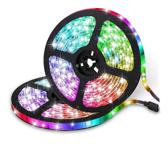 Tira Led Rgb Wifi Strip Light Usb 10m 600 Led Glückluz