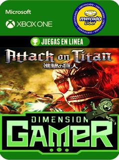 Attack On Titan - Xbox One Modo Local + En Linea