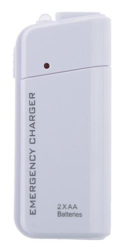 Imagen 1 de 6 de Cargador Portátil De 2aa Teléfono Móvil Batería