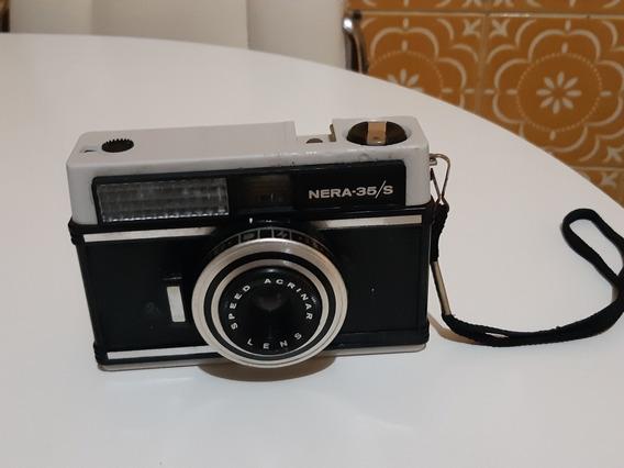 Câmera Analógica Máquina Fotográfica Nera 35/s Ñ Kodak Fuji