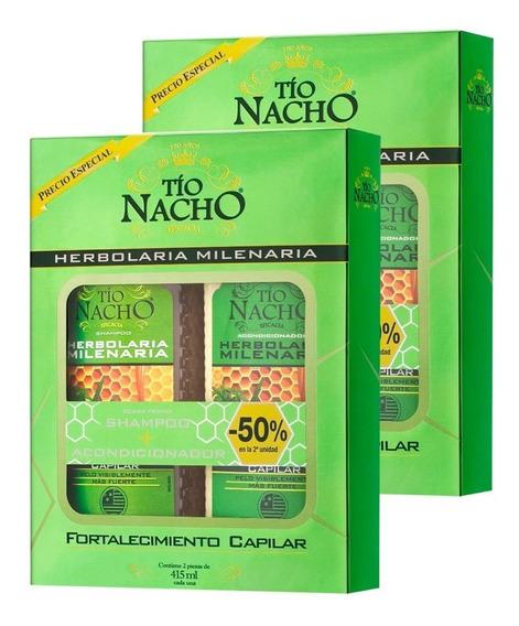 Tio Nacho Herbolaria Milenaria Shampoo + Acondicionador X2