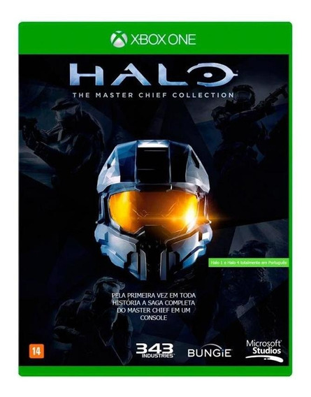 Halo The Master Chief Collection Xbox One Mídia Física Novo