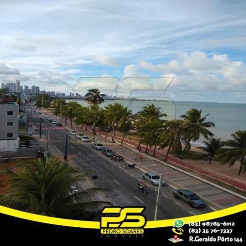 Apartamento Com 1 Dormitório À Venda, 17 M² Por R$ 160.000,00 - Cabo Branco - João Pessoa/pb - Ap2672