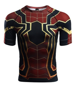 Playera Iron Spiderman Infinity War Marvel Avengers Endgame
