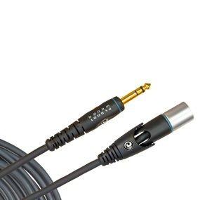 Cable P/microfono Daddario Custom Series Pw-gmms-05