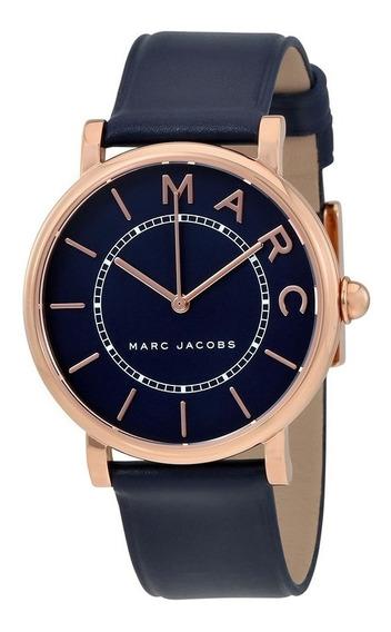 Reloj Marc Jacobs Mj1534 Azul, Oro Rosado Original