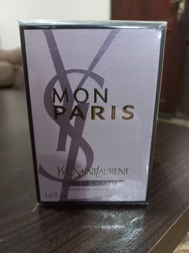 Imagen 1 de 2 de Yves Saint Laurent Mon Paris 50ml Edt