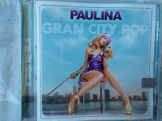 Cd Paulina Rubio - Gran City Pop