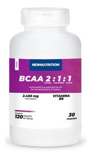 Bcaa 2400 Newnutrition 120 Cápsulas