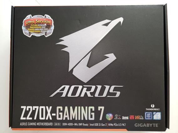 Kit Placa-mãe Aorus Z270x-gaming 7 Gigabyte + Intel I7-7700k