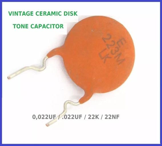 Capacitor Tonalidade Vintage Gibson Les Paul, Sg, 335 Leia.