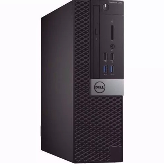 Cpu Dell Optiplex Core I3 6ger 4gb 500gb - Novo