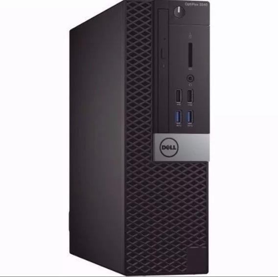 Cpu Dell Optiplex Core I3 6ger 4gb 500gb - Novo