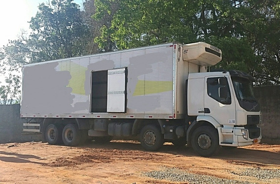 Volvo Vm 330 8x2 + Bau Refrigerado -30 24320 2428 Thermoking